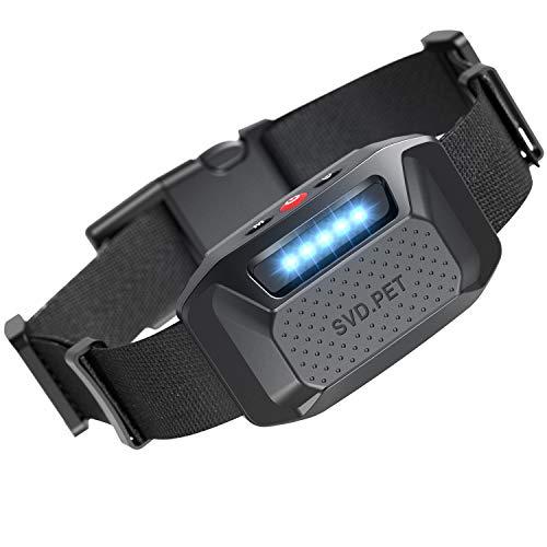 HELLKOPF Bark Collar – Super Effective Anti-Bark Dog Collar, with Vibration and No-Harm Shock Modes, for Small/Medium…