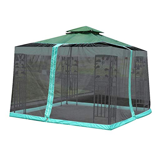 Opfury Canopy Netting Tent Outdoor Camping Screen House Shade Tent Netting Gazebo Hexagon Tent Patio Canopy Outdoor…