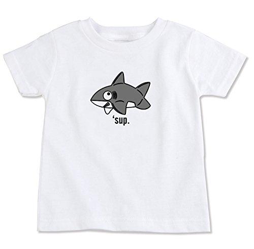 Fish Organic Cotton Tee - Shark Organic Cotton Toddler T-Shirt (3T)