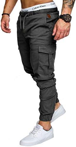 lexiart Mens Fashion Joggers Sports Pants – Cotton Cargo Pants Sweatpants Trousers Mens Long Pants