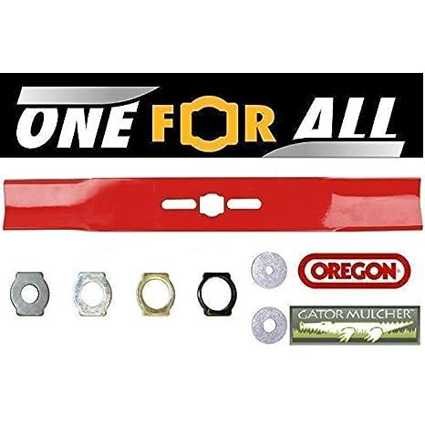 Oregon Universal 22 cm Recto Cuchilla para cortacésped: Amazon.es ...