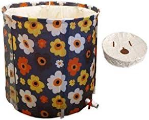Kk インストールするにはバスタブ簡単に浸漬ポータブルバスタブ、折り畳み式の無料立ち、エコフレンドリーバスタブバスルームスパ、太い折りたたみ風呂バレル取り外し可能な断熱材バース