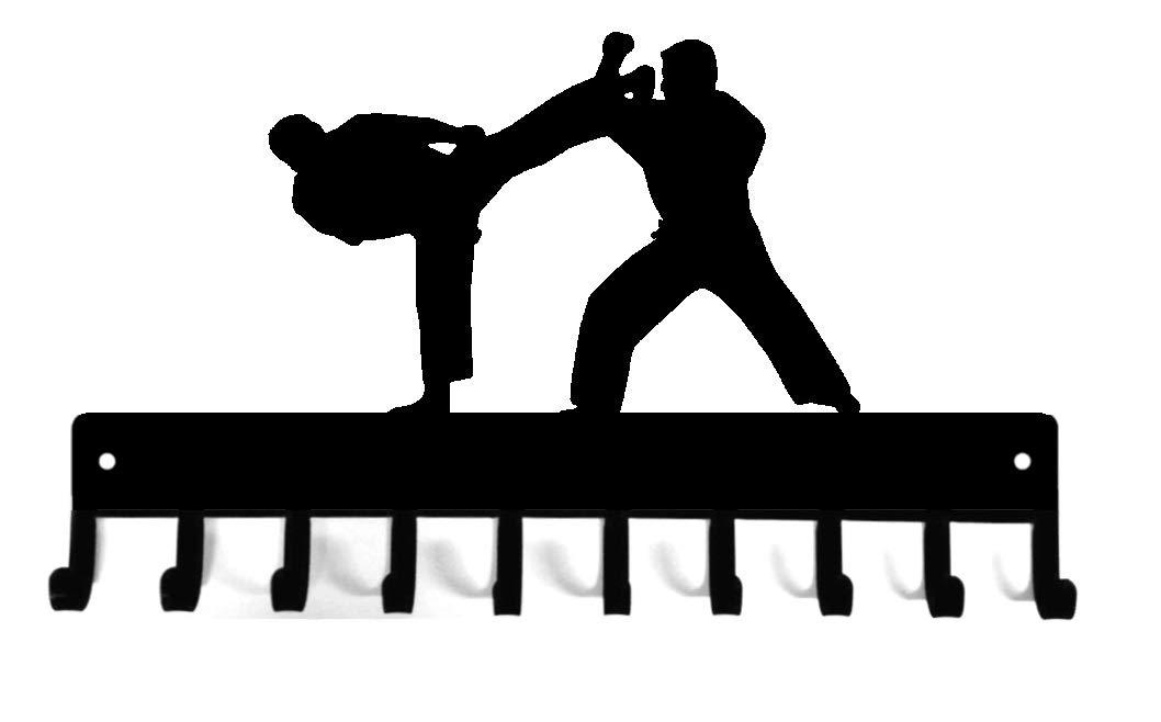 Ten Level Martial Arts Karate Tae Kwon Do Judo Belt Display hand made /& thicker