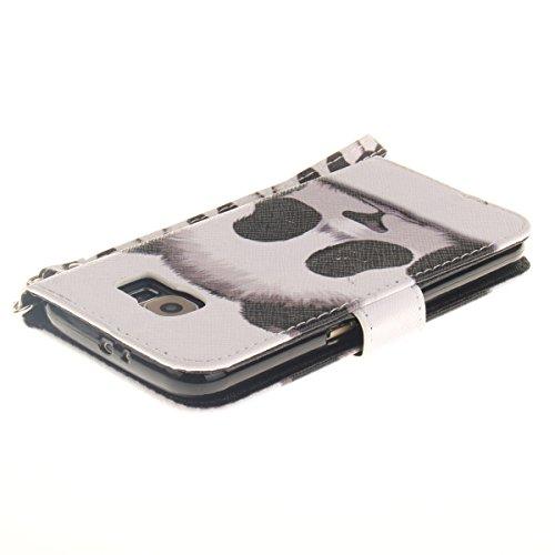 ANNNWZZD PU Synthetic Cuero Estilo Flip Case Protector Funda Cáscara de la caja Funda protectora de cuero caso del soporte billetera con Stand Función y Imán Incorporado para Samsung Galaxy Note 5 +St A11