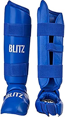 Blitz Sport PU Elite Shin With Removable Foot