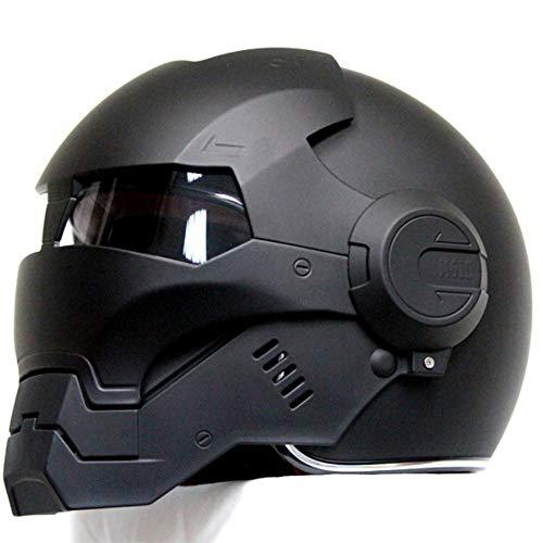 MENUDOWN Casco de Moto Casco Modular Casco de Moto Casco de Moto Casco de Moto Casco de Motocicleta con Visera Solar para Adultos Hombres Mujeres Casco de ...