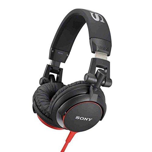 Casques et écouteurs SONY MDRV55 ROUGE