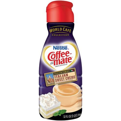 Nestle Coffee-mate Italian Sweet Creme Liquid Coffee Creamer, 32 Fl Oz (2 Pack)