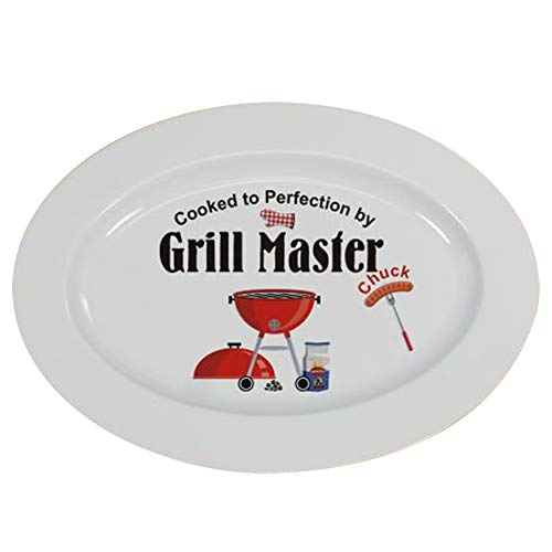 Personalized Grill Master Platter, 13