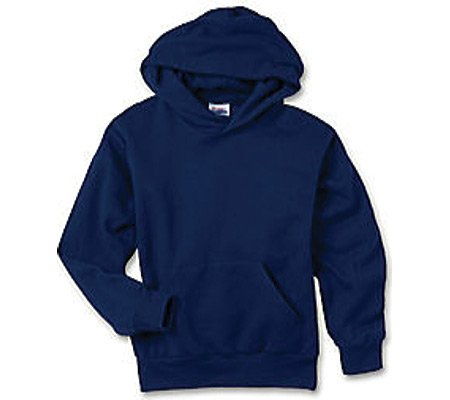 picture of Hanes Boys' Comfortblend Pullover Hood 7.8 oz (Set of 3),Navy,US XS