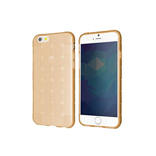 "WEGACELL TPU Case ""Square"" für Apple iPhone 6, 6s Gold"
