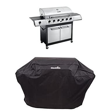 Char-Broil Classic 6-Burner Gas Grill + Cover