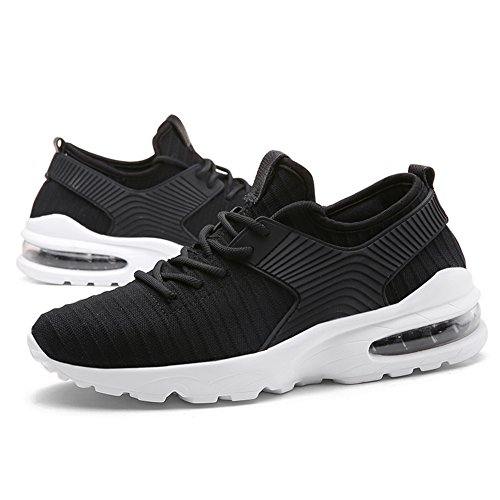 Casual Sneaker Athletic Black Sport Shoes Lightweight Men's Breathable Walking Lauwodun 3 Shoes Running Tq8EwE