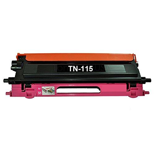 YATUNINK Compatible 1 Color Pack TN115 TN-115 Toner Magenta for Brother DCP-9040CN DCP-9045CDN HL-4040CDN HL-4040CN HL-4070CDW MFC-9440CN MFC-9450CDN ()