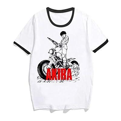Japanese Amine Short Sleeves Shirt Akira Synthwave T Shirt Akira T-Shirt Summer Tshirt for Men