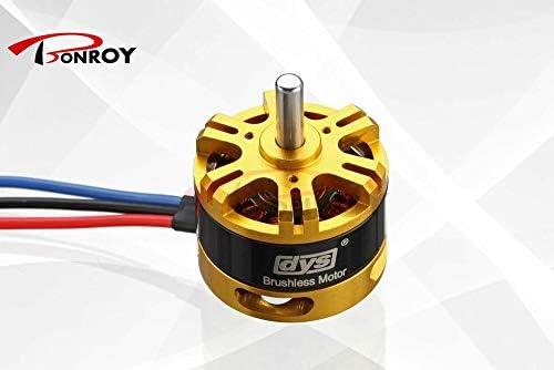 DYS BE2808 1080KV 3-6S - Tirador de motor sin escobillas 1430 g ...
