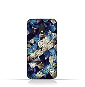 Motorola Moto E3 TPU Silicone Case With Digital Art abstract