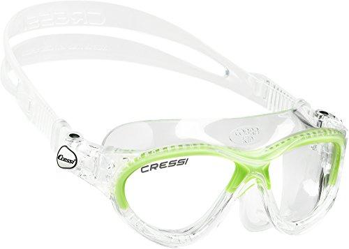 Cressi Mini Cobra, clear/lime