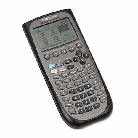 Amazon com: Texas Instruments TI-89 Titanium Graphing