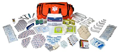Dixie EMS Fully Stocked 147 Piece First Responder On Call Ki by Dixie Ems