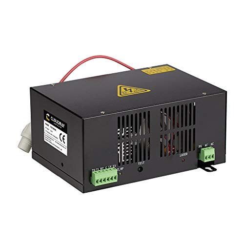 - 60W CO2 Laser Power Supply T Series HY-T60 Plus 110V for CO2 Laser Tube by Cloudray (Buy More Discounts)