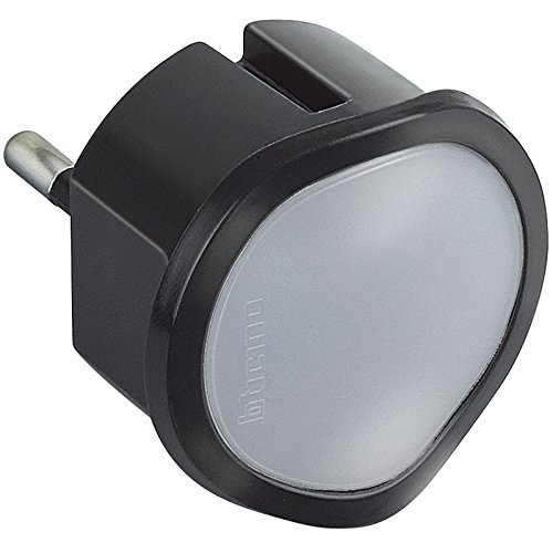 BTicino S3625DA Luce On-Off Manuale con Funzione Crepuscolare Automatica, Bianco