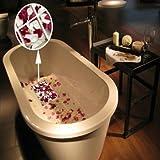Colored Tub Label - 6pcs Bath Sticker Petal Waterproof Decor Anti Slip Tub Decal Applique - Rose Wine Rosaceou Blush Bathe Pink Chromatic Bathroom Roseate Bathtub