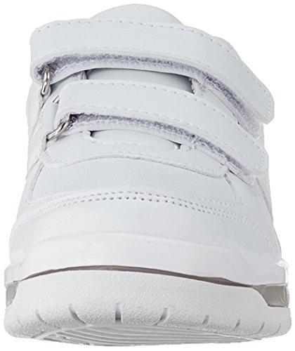 KangaROOS Jeyled V SL, Zapatillas Unisex Niños Weiß (White)