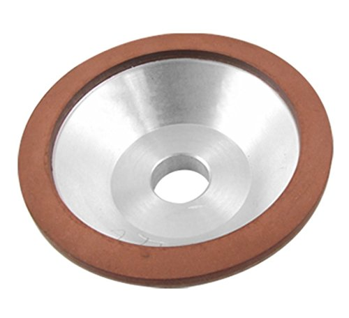 Driak 100x32x20x10x3mm 75% concentration 240 Grit Resin Bonded Flaring Cup Diamond Grinding Wheel