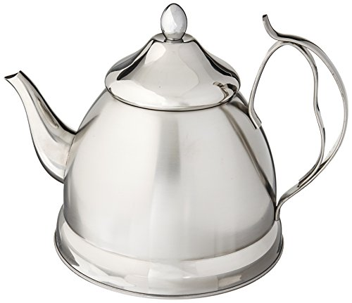 Creative Home Nobili-Tea 2.0 Qt. Stainless Steel Tea Kettle