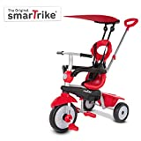 smarTrike Zoom 4 in 1 Baby Tricycle - Red