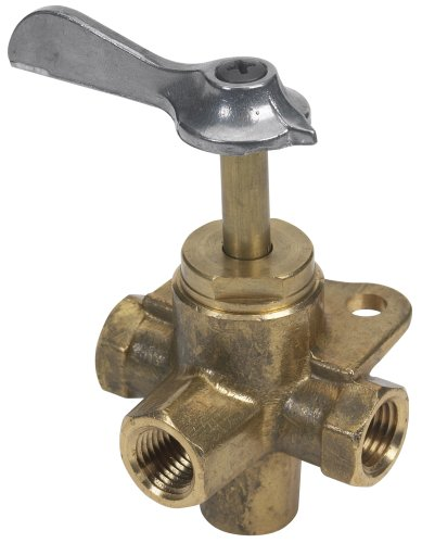 Moeller Fuel Tank Four-Way Valve (1/4