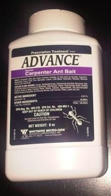 8 oz Advance Granular Carpenter Ant Bait ~~ Kills: Carpenter Ants , Acrobat , Argentine , Bigheaded , Crazy , Field , Little Black , Pavement , Pharoah , House , and Theif (Kill Bait)