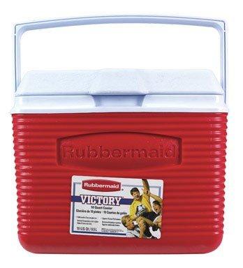 (Rubbermaid Cooler, 10 Quart, Red FG2A1104MODRD)