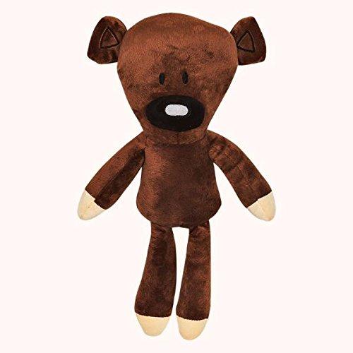 Bear Bean Plush Mr Teddy (Phingshop 1 PCS 30 cm Mr. Brown Bear Cartoon Soft Plush Doll A Great Stuffed Toy for Your Children)