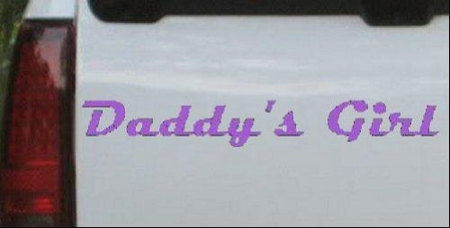 【希望者のみラッピング無料】 Daddys Girl Girlie車ウィンドウ壁ノートパソコンデカールステッカーすべてのサイズ 3.9in 26in X 3.9in B0069YU1O6 26inX3.9in 26in_Purple_11377_22 26in X 3.9in B0069YU1O6, 資材PLAZA:f6799687 --- a0267596.xsph.ru