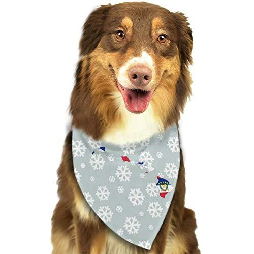 (Oahu Kauai Flag of Hawaii Stylish Dog Bandanas Bibs Scarf Pet Dog Cat Dog)