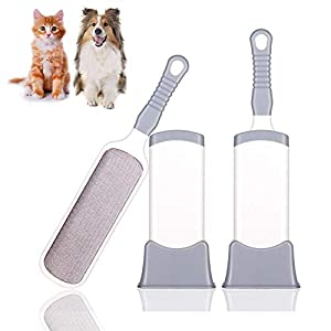 Double Sided Self-Cleaning Pet Dog Hair Fur Fluff Remover, Lint Brush Tool, Clothes, Furnitures Fabric Cleaner, No Refills Required for East-European Shepherd 28