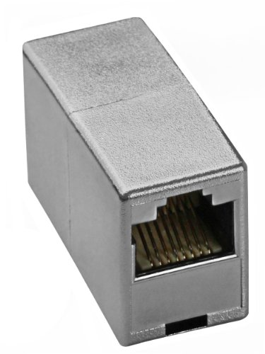 mumbi Netzwerkkabel Verbinder - Modular Kupplung / Adapter für CAT5e Kabel - Netzwerkverbinder