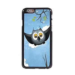 SOL Flying Owl in the Sky Pattern Aluminum Hard Case for iPhone 6