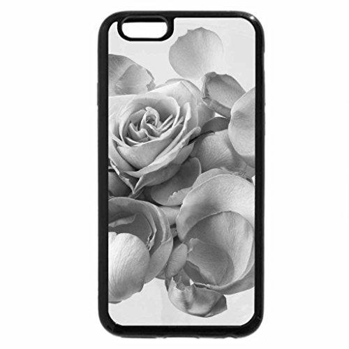 iPhone 6S Plus Case, iPhone 6 Plus Case (Black & White) - In the Name of Roses