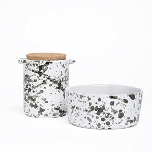 Waggo Splash Ceramic Dog Bowl For Sale
