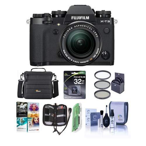 Fujifilm X-T3 26.1MP Mirrorless Camera with XF 18-55mm f/2.8