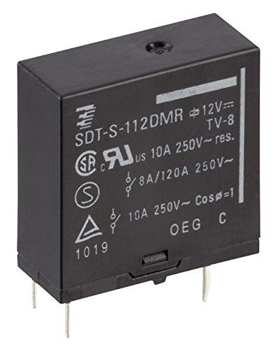 (SDT-S-109DMR,03000 - General Purpose Relay, SDT-R Series, Power, SPST-NO, 9 VDC, 10 A RoHS Compliant: Yes (Pack of 20) (SDT-S-109DMR,03000))