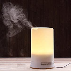 Denshine® 4 Colors Ultrasound Mini LED Essential Oil Air Humidifier Aromatherapy Aroma Diffuser
