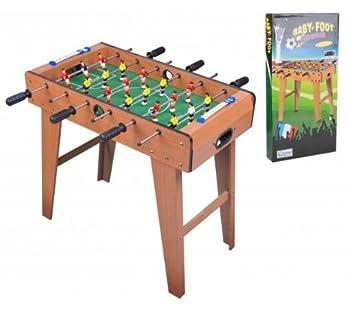 98737365f6674 Baby Foot BabyFoot Football Table de jeu jouet enfant Adulte Jardin ...