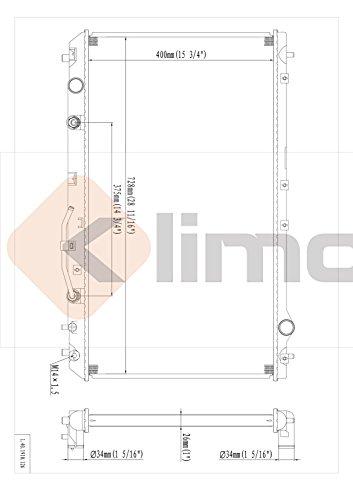 klimoto brand new radiator fits toyota camry 1997-2001 solara 1999-2001 lexus  es300 1997-2001 3 0l v6 to3010109 to3010112 to3010113 sbr1910 q1910 cu1910