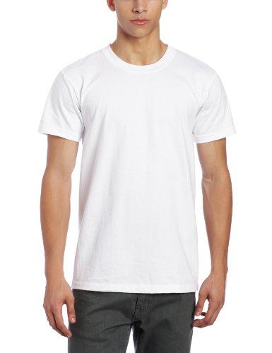 Famous Tee Shirts - Naked & Famous Denim Men's T-Shirt, White Ringspun Cotton, Small