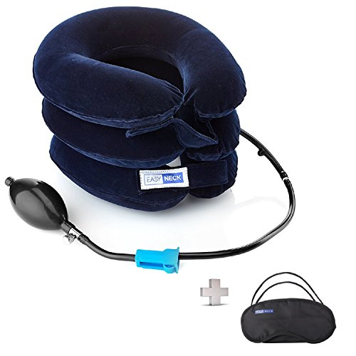 Cervical Neck Traction Device FDA Registered – Inflatable, Adjustable Neck Stretcher Collar for Home Traction Spine (Spine Neck)