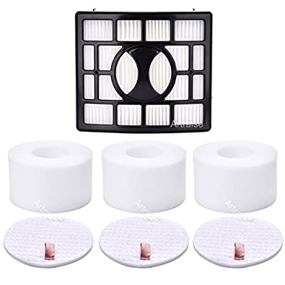 3 Pack Filters for Shark Rotator Powered Lift-Away Speed&DuoClean Vacuum Cleaner NV680, NV681, NV682, NV683, NV800, NV800W, NV801, NV803, UV810 Replaces Part # XHF680 & XFF680 By Artraise